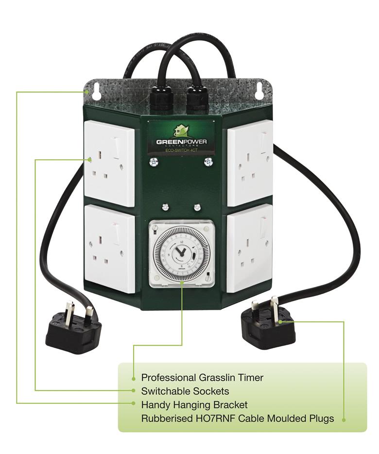GreenPower Pro 4 Way Contactor