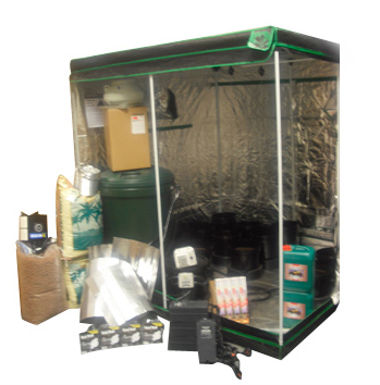 2m x 2m IWS 12 Pot Grow Tent Kit