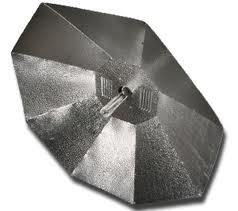Sunking Parabolic XL Silver Reflector