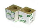 Box of 216 rockwool cubes 4 inch with large holes