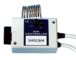 SMS Single Fan Controller with Thermostat