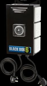 Maxibright Black Box 6 way Contactor