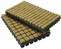 150 x 1 inch rockwool cubes