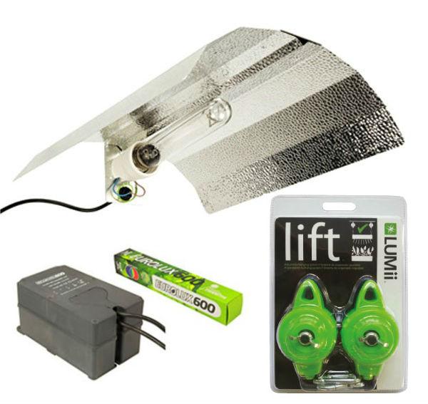 Eurolux 600w Euro Light Kit Plus Free Lumii Lift Hangers
