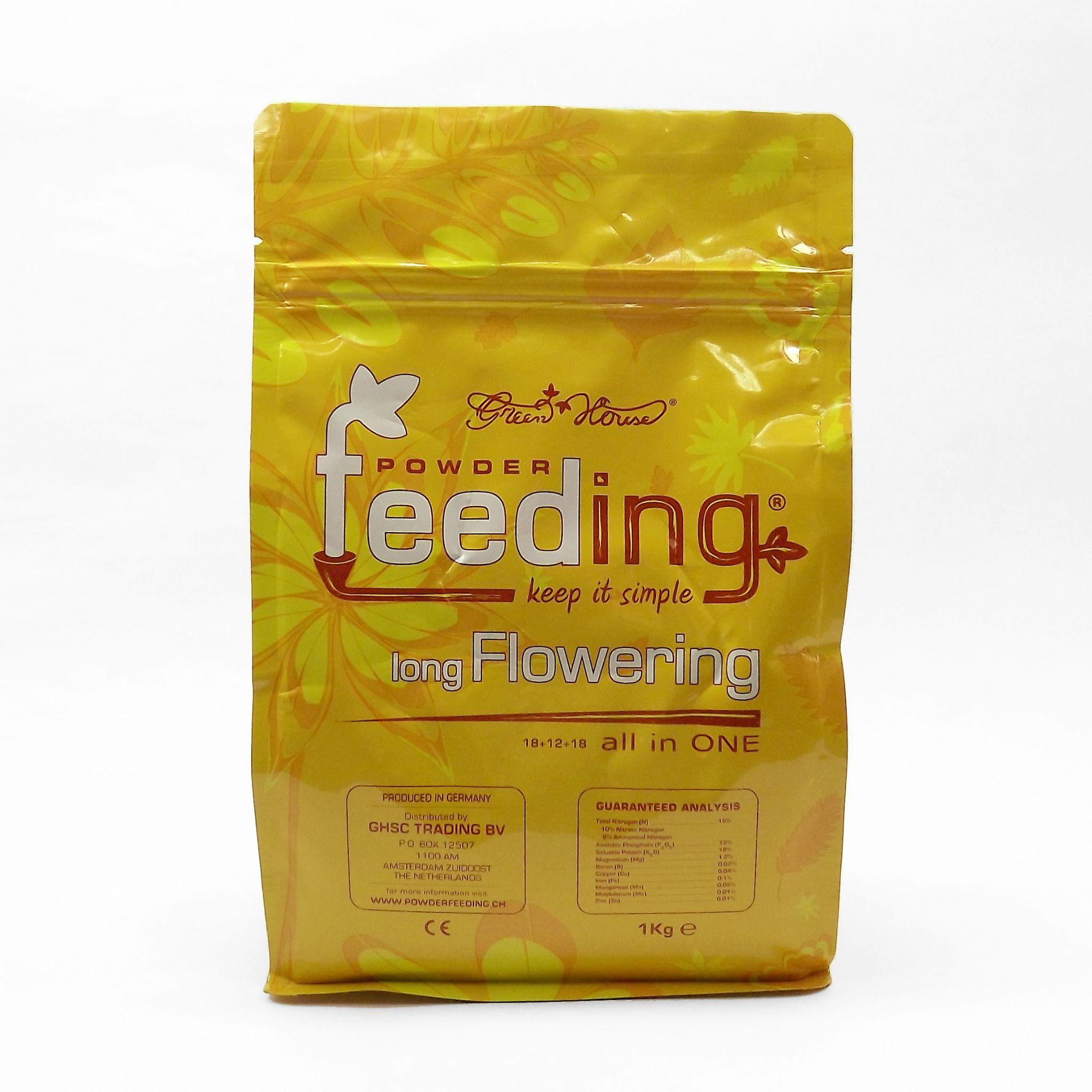 Green House Pwder Feeding Long Flowering 1kg