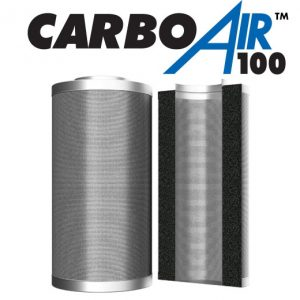 "8"" CarboAir 100mm Bed 200mm x 660mm 2550m3/hr"