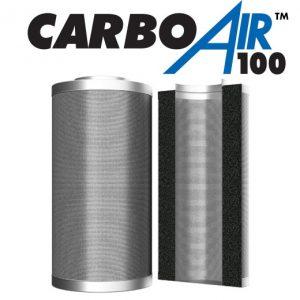 "8"" CarboAir 100mm Bed 200mm x 660mm 2550m3/hr"