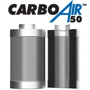 "4"" CarboAir 50mm Bed 100mm x 330mm 410m3/hr"
