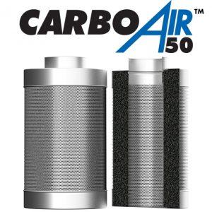 "4"" CarboAir 50mm Bed 100mm x 330mm 410m3/hr"